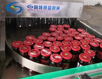 瓶装罐头喷淋式低温杀菌机